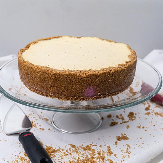 Gluten Free Plain Cheesecake